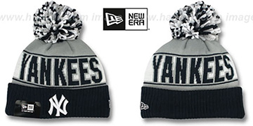 Yankees 'REP-UR-TEAM' Knit Beanie Hat by New Era