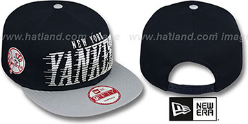 Yankees 'SAILTIP SNAPBACK' Navy-Grey Hat by New Era