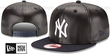 Yankees 'SMOOTHLY STATED SNAPBACK' Black-Navy Hat by New Era