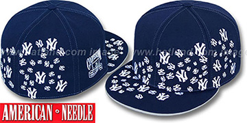 Yankees 'STARSTRUCK' Navy Fitted Hat by American Needle