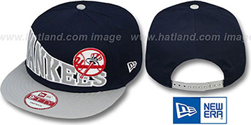 Yankees 'STOKED SNAPBACK' Navy-Grey Hat by New Era