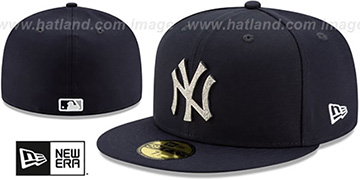 Yankees TEAM-GEM Navy Fitted Hat by New Era