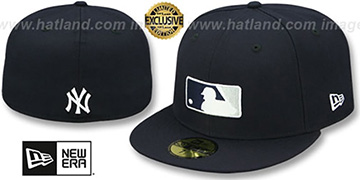 Yankees TEAM MLB UMPIRE Navy Hat by New Era