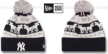Yankees THE-MOOSER Knit Beanie Hat by New Era