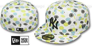 Yankees TOKENS White-Pastel Fitted Hat by New Era