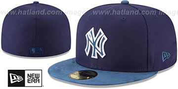 Yankees TONAL-CHOICE Navy Fitted Hat by New Era