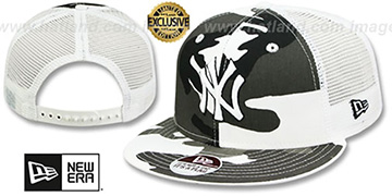 Yankees URBAN CAMO SNAPBACK Adjustable Hat by New Era