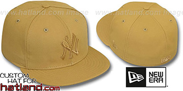 Yankees WHEATOUT Fitted Hat by New Era