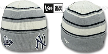 Yankees WINTER TRADITION Knit Beanie Hat by New Era