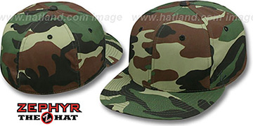 Zephyr 'BLANK CAMO' Army Fitted Hat