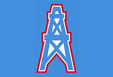 Houston Oilers THROWBACK NFL Hats