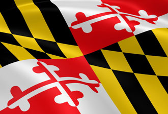 Maryland Flag Hats