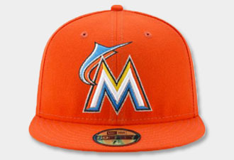 Miami-Florida Marlins MLB Hats