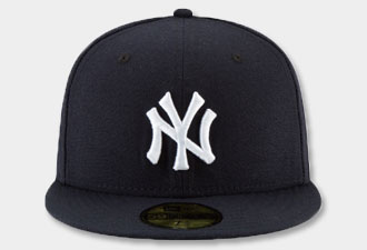 513a3d6028a25b New York Yankees MURDERERS ROW CALLOUT Navy Fitted Hat