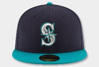huge discount b6e1f c8c4d Seattle Mariners Hats