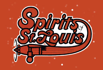 St Louis Spirits HARDWOOD ABA Hats