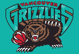 Vancouver Grizzlies HARDWOOD NBA Hats