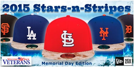 2015 Stars and Stripes Hats