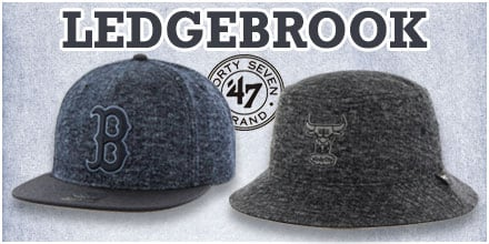Ledgebrook Hats by 47 Brand