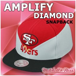 Amplify Diamond Snapback Hats