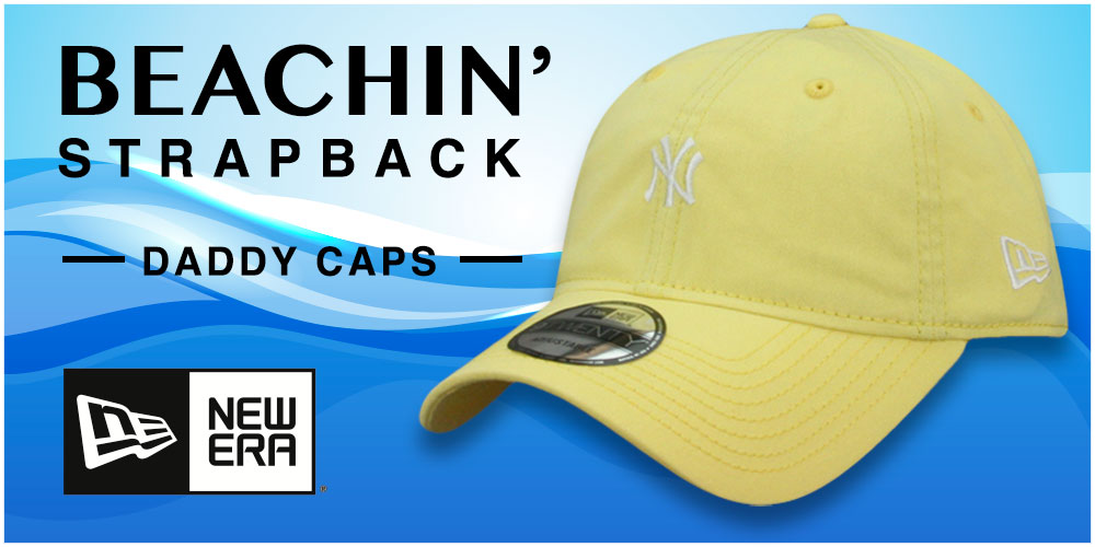 Beachin Strapback Hats