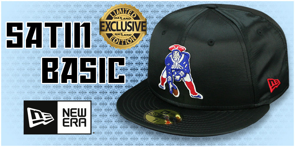 Exclusive Satin Basic Hats by New Era