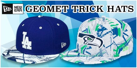 Geomet Trick Hats by New Era