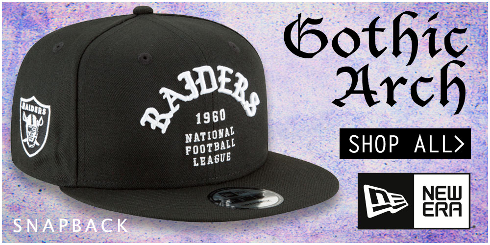 Gothic-Arch Snapback Hats