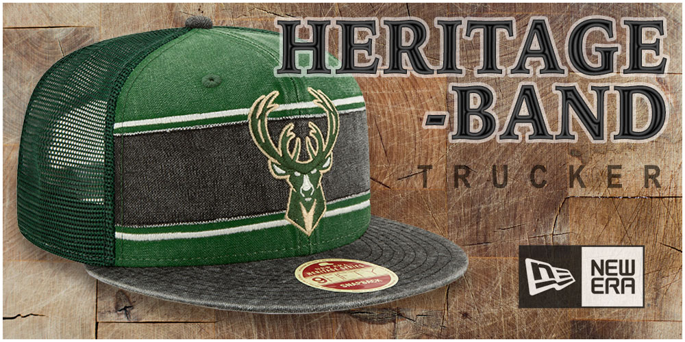 Heritage-Band Trucker Hats