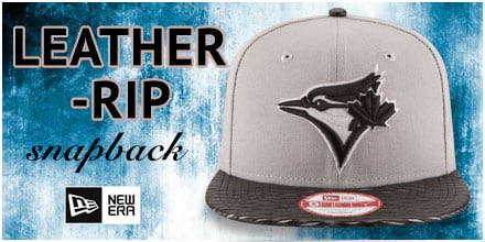 Leather-Rip Snapback Hats