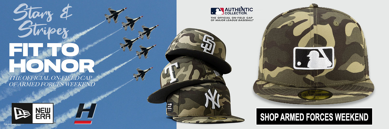MLB Armed Forces Weekend Hats