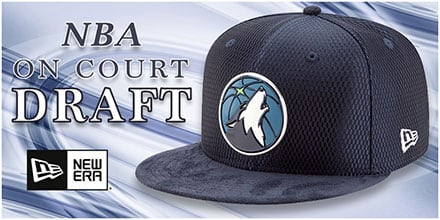 2017 NBA On Court Draft Hats