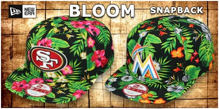 New Era Bloom Snapback Hats