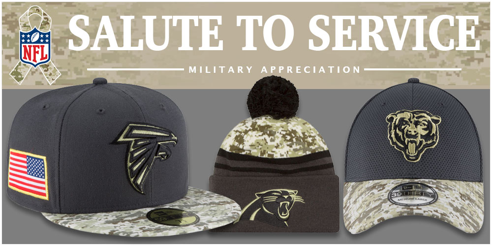 cheap for discount 5c09f 39eb8 salute to service nfl hats