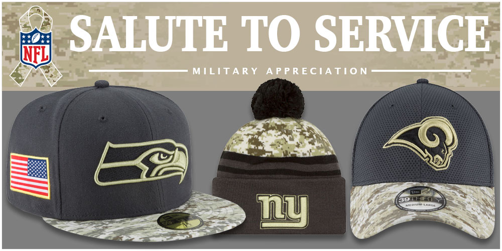 2016 NFL Salute to Service Hats