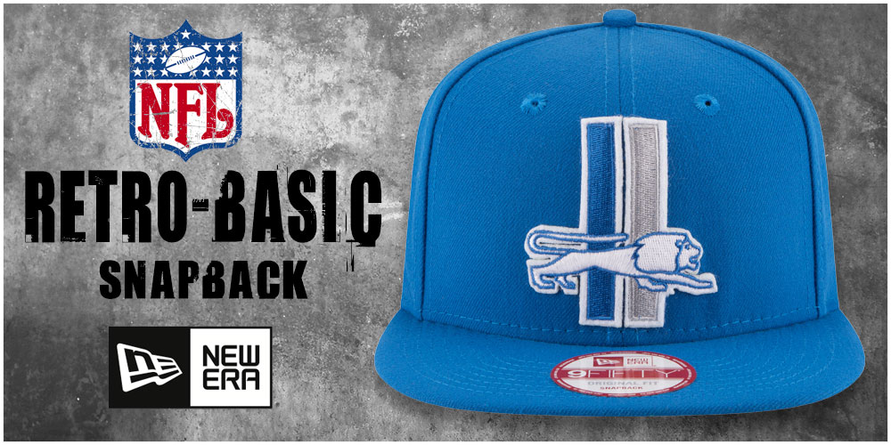 NFL Retro-Basic Snapback Hats