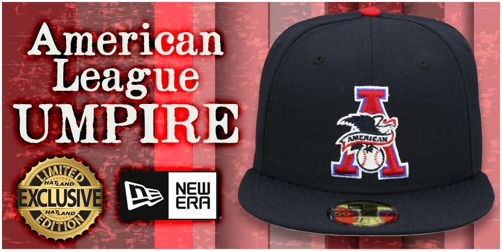 Retro League Umpire Hats