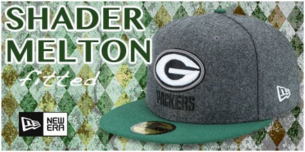 Shader Melton Fitted Hats