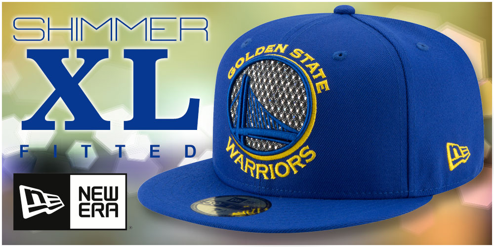 Shimmer-XL Fitted Hats