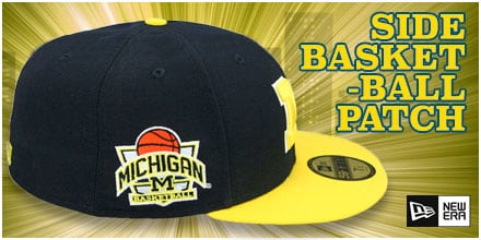Side Basketball-Patch Fitted Hats