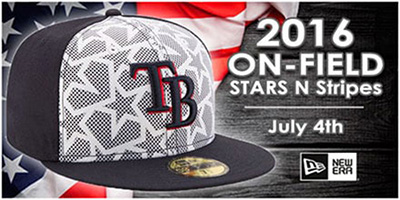 2016 MLB July 4th Stars and Stripes Hats