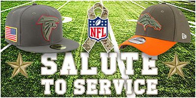 NFL Salute to Service Hats by New Era