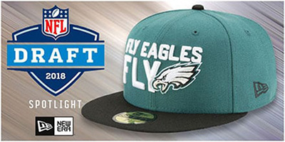 2018 NFL Draft Hats