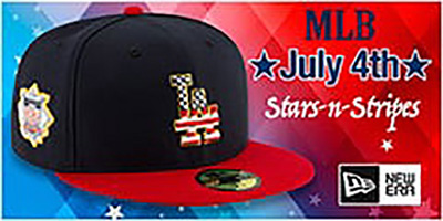 MLB July 4th Hats