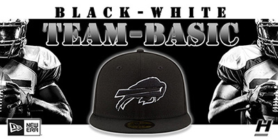 NFL Black-White Team-Basic Hats