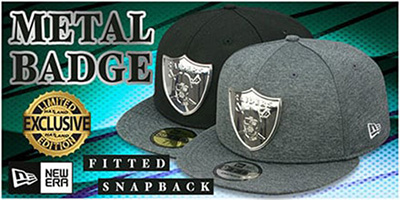Exclusive Metal-Badge Hats