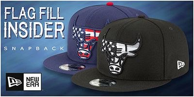 Flag Fill Snapback Hats