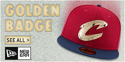 Golden Badge Fitted Hats