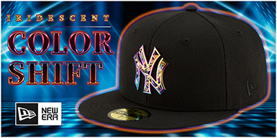 Iridescent Color-Shift Hats