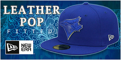 Leather Pop Fitted Hats